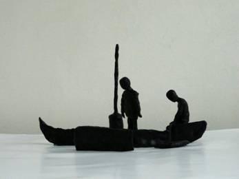 Image2. Karim Ghelloussi, travail prépatoire Anamorphose, 2012, courtesy de l'artiste