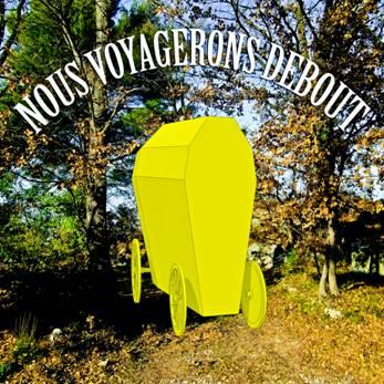 Alain Domagala,Nous voyagerons debout, 2013, travail préparatoire, courtesy de l'artiste.