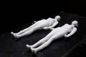 Deux Gisants, 2009, sculptures de Jean-Pierre Formica © Jean-Pierre Formica