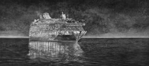 Cruise Liner Hans Op de Beeck 'Sea of Tranquillity' 2010 Full HD video, 29 minutes, 50 seconds, colour, sound