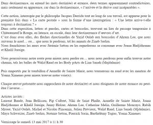 Sortir ici et ailleurs, Pierre Aimar, 24.04.17 02